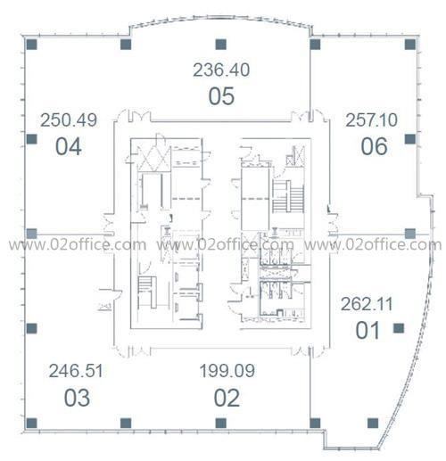 SOHO东海广场房型图